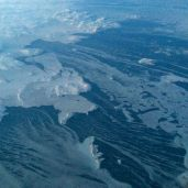 Very northern Canada, on the coast of the Labrador Sea.