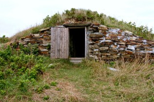There were a few of these old little huts about the place