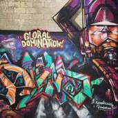 Graffiti outside Crafted