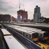 Trains at the Highline