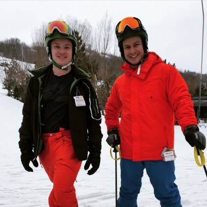 Glen and Julian