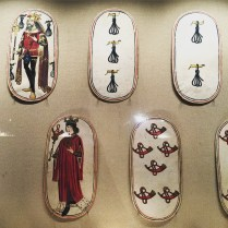 One of the world's oldest set of playing cards