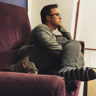 Glen and Smudge