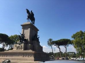 Garibaldi on his horse