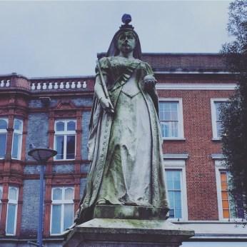 Queen Victoria in Reading
