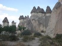 Formações rochosas estranhas