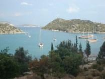 Vista de uma das ilhas