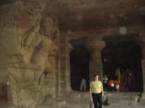 Caverna escavada na rocha 6 AD