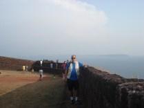 Forte Aguada – forte português na entrada do Rio Mandovi