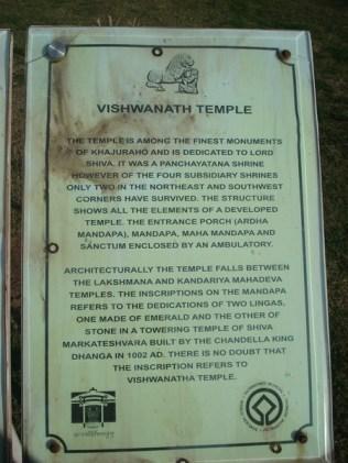 Identificação do Templo Vishwanah