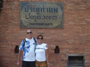 Tha Pae Gate, um dos quatro portões que ainda restaram
