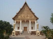 Wat That Luang Neua – templo ao norte da estupa