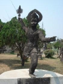 Esse é Hanumam, o Deus Macaco dos hindus