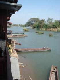 Vista a direita do nosso bangalô