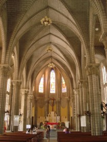 Estilo gótico francês, construída em 1930