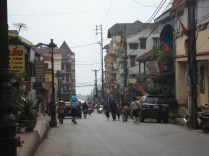 Rua principal de Sapa