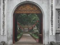 Templo da Literatura. O mais antigo e maior complexo da cidade usado como centro de aprendizado superior