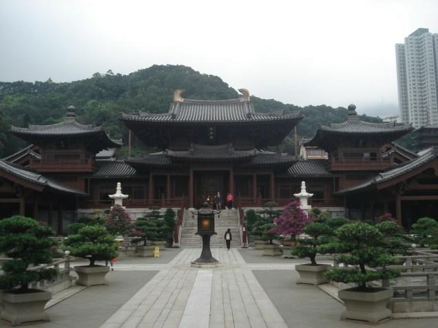 Chi Lin Nunnery – o monastério que faz parte do complexo. Difícil mostrar toda a beleza do lugar.