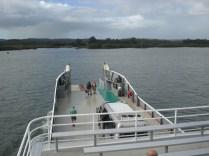 Ferry que vai até a ilha