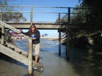 Eli Creek, a maior fonte de água da ilha que despeja litros e litros de água no mar