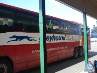 O famoso ônibus Greyhound