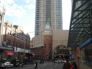Market City , no coração de Chinatown, acima do Paddy´s Market