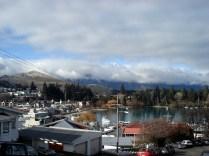 E essa é outra parte da vista descendo da montanha