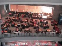 Restaurante e café dentro do museu