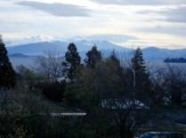 Outra vista, ao fundo as montanhas do Tongariro National Park