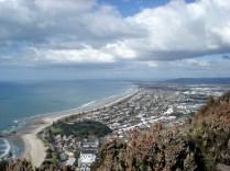 Vista da cidade a partir do Mt. Manganui