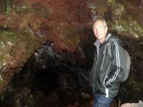 E essa é a entrada de uma das cavernas