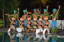 Show de danças típicas no Intercontinental