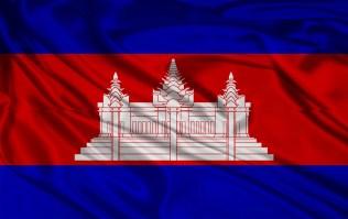 A bandeira do Camboja