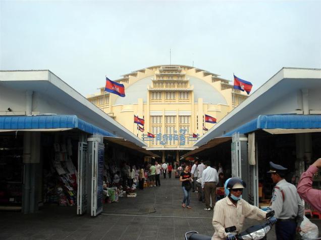 Phsar Thmei, mercado central