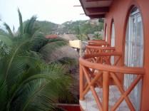 Vista da nossa varanda