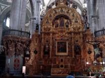Interior da Igreja de Santo Domingo. Lindíssima numa praça de mesmo nome muito bonita.