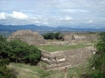 A grandiosidade das ruinas
