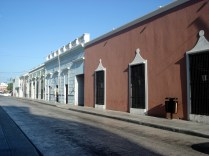 Rua típica colonial da cidade