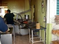 Mercado San Benito, fabricação de tortillas