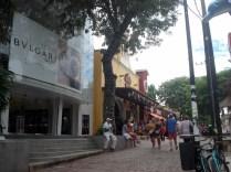 Quinta avenida, rua de maior movimento