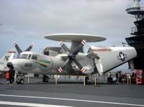 Avião radar - E-2C Hawkeye