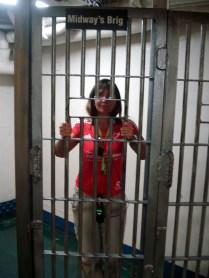 No brig – cadeia dos oficiais a bordo