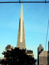TransAmerica Pyramid Building o edifício mais alto de SF