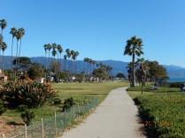 Santa Barbara fica na costa central da Califórnia e tem como fundo as montanhas Santa Ynez