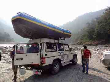 Getting ready to raft