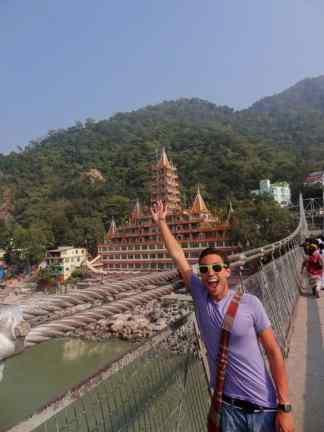 Neelakanta Mahadeva Temple along the Ganges
