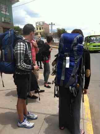 Leaving Cusco for MP