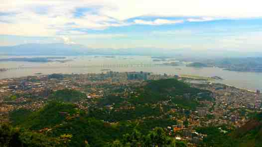 View of Rio from Cristo Redentor