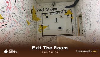 "Bears' Escape ""Exit The Room"" in Linz"
