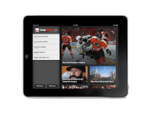 team stream for ipad